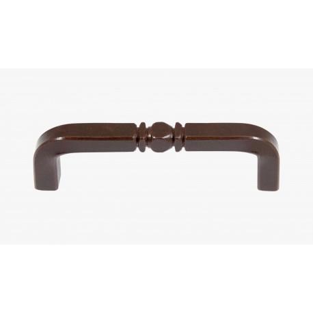 Maniglietta per mobili in ferro battuto