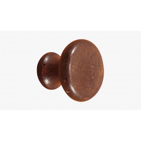 Pomello per mobili in ferro battuto
